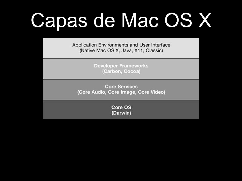 Capas de Mac OS X
