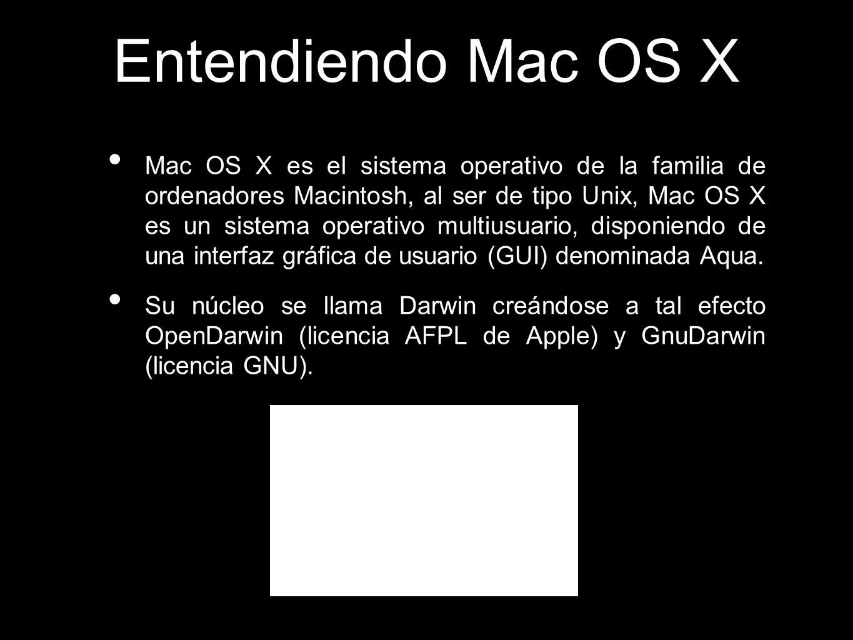 Entendiendo Mac OS X