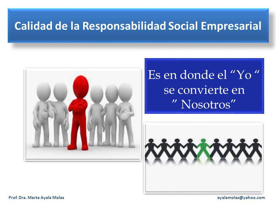 Calidad de la Responsabilidad Social Empresarial