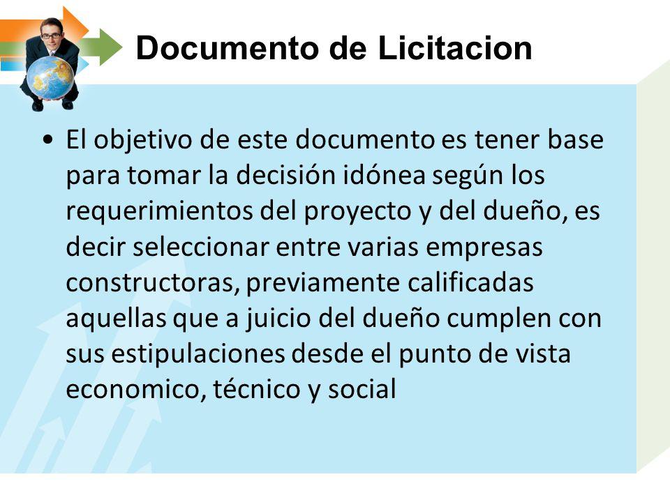 Documento de Licitacion
