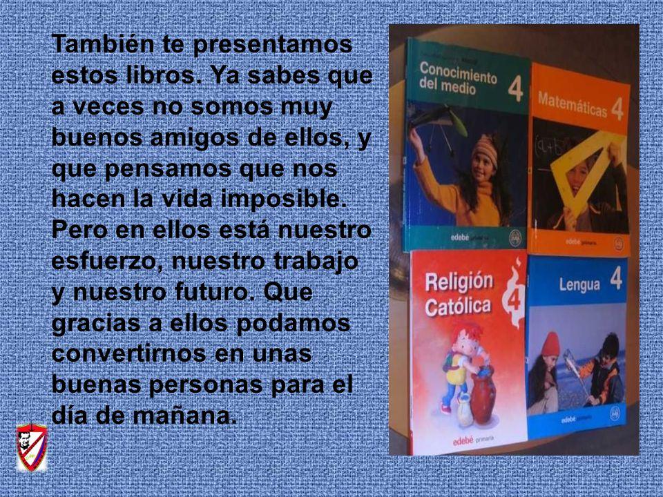 También te presentamos estos libros