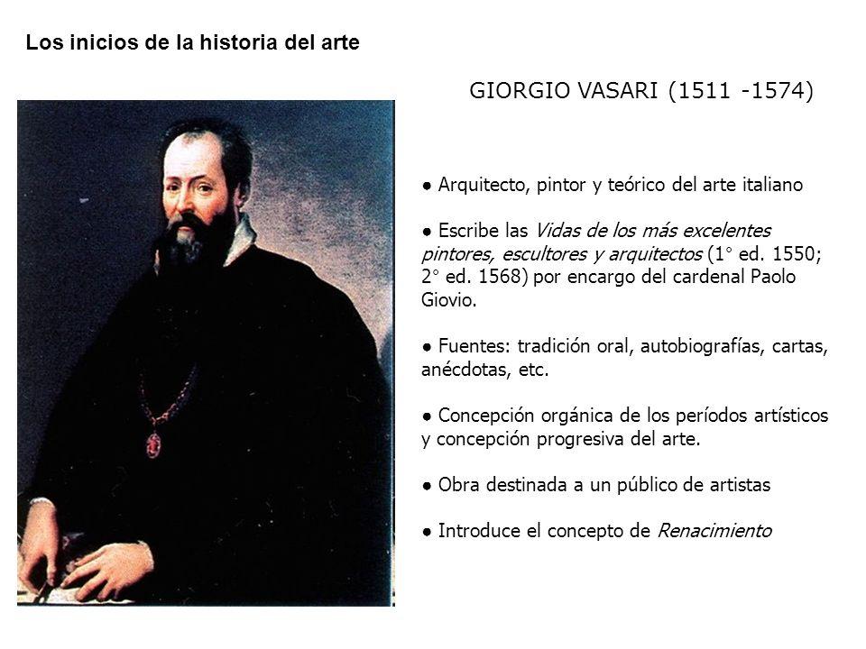 Los inicios de la historia del arte