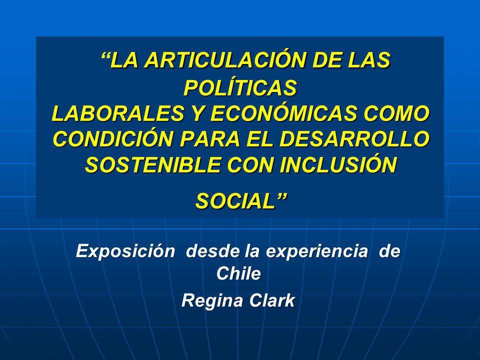 Exposición desde la experiencia de Chile Regina Clark