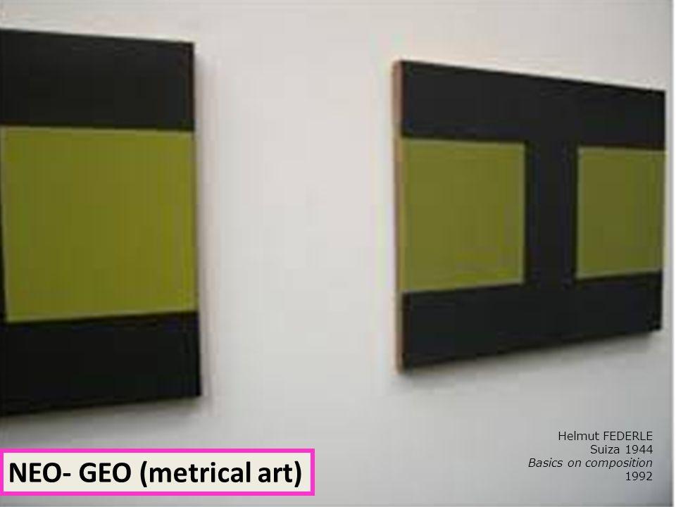 NEO- GEO (metrical art)