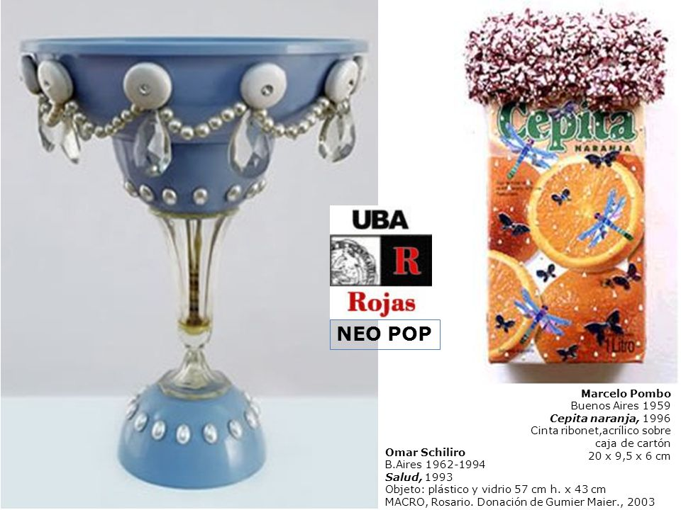 NEO POP Marcelo Pombo Buenos Aires 1959