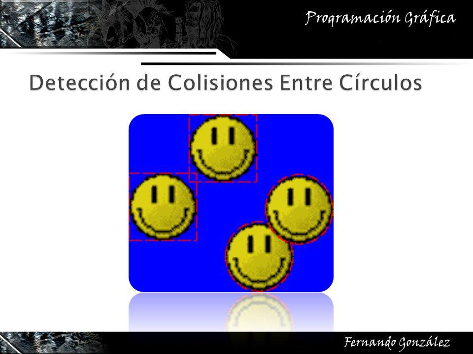 Detección de Colisiones Entre Círculos