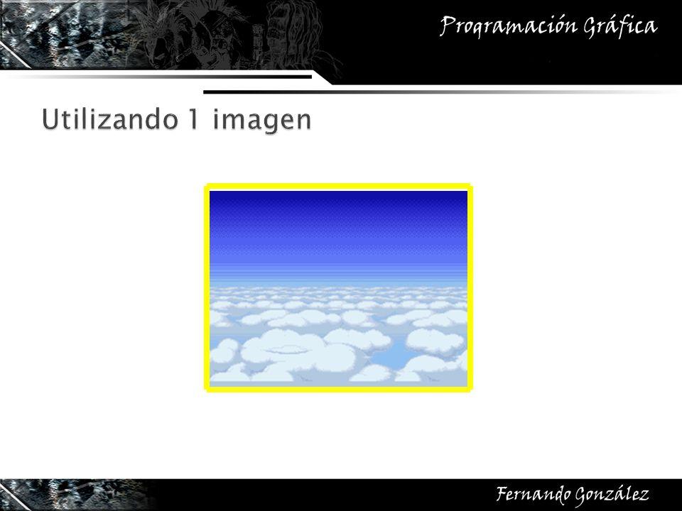 Utilizando 1 imagen