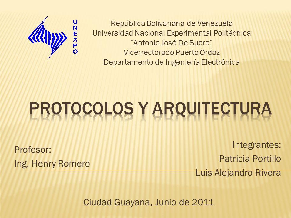 Protocolos y arquitectura