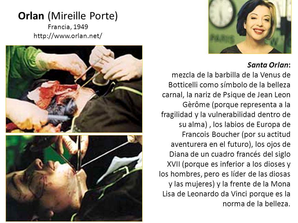 Orlan (Mireille Porte)