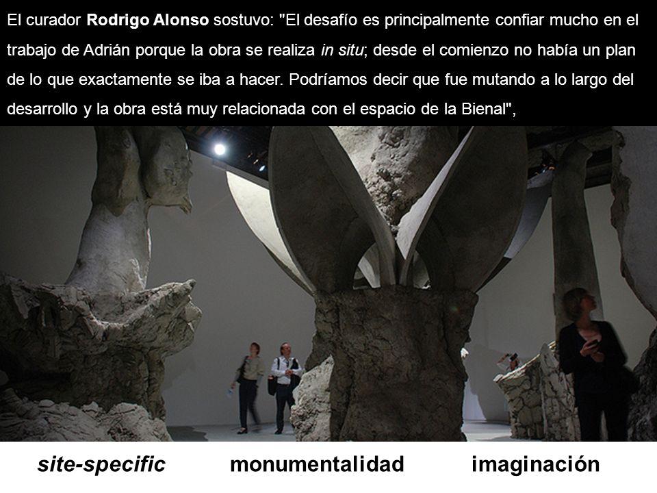 site-specific monumentalidad imaginación