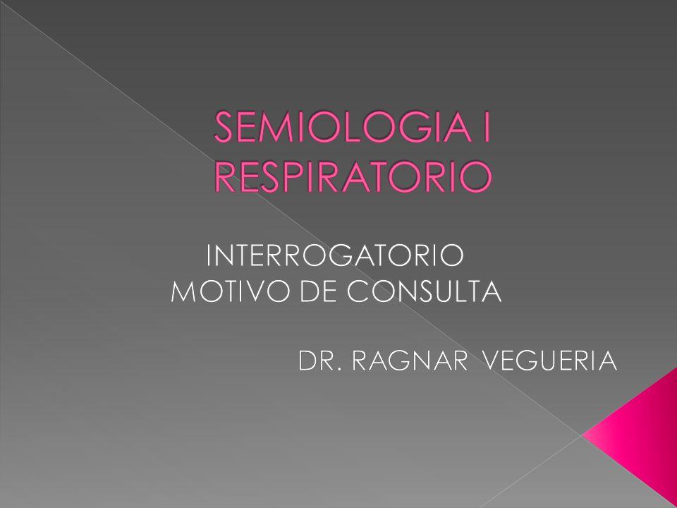 SEMIOLOGIA I RESPIRATORIO