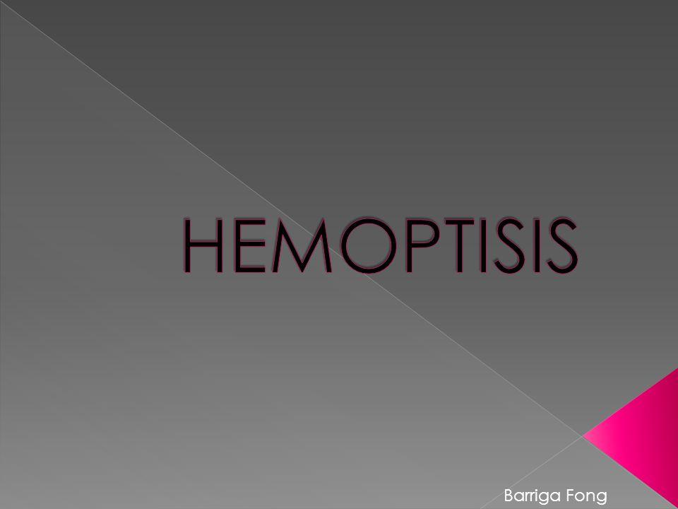 HEMOPTISIS Barriga Fong
