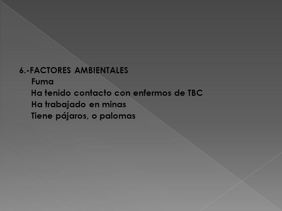 6.-FACTORES AMBIENTALES