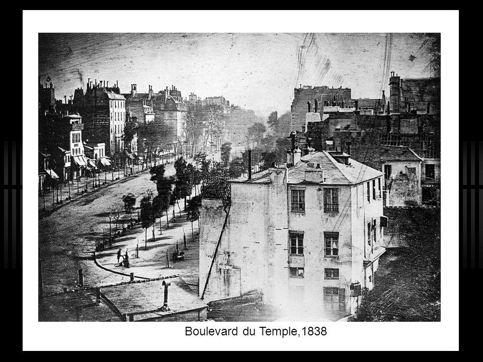 Boulevard du Temple,1838