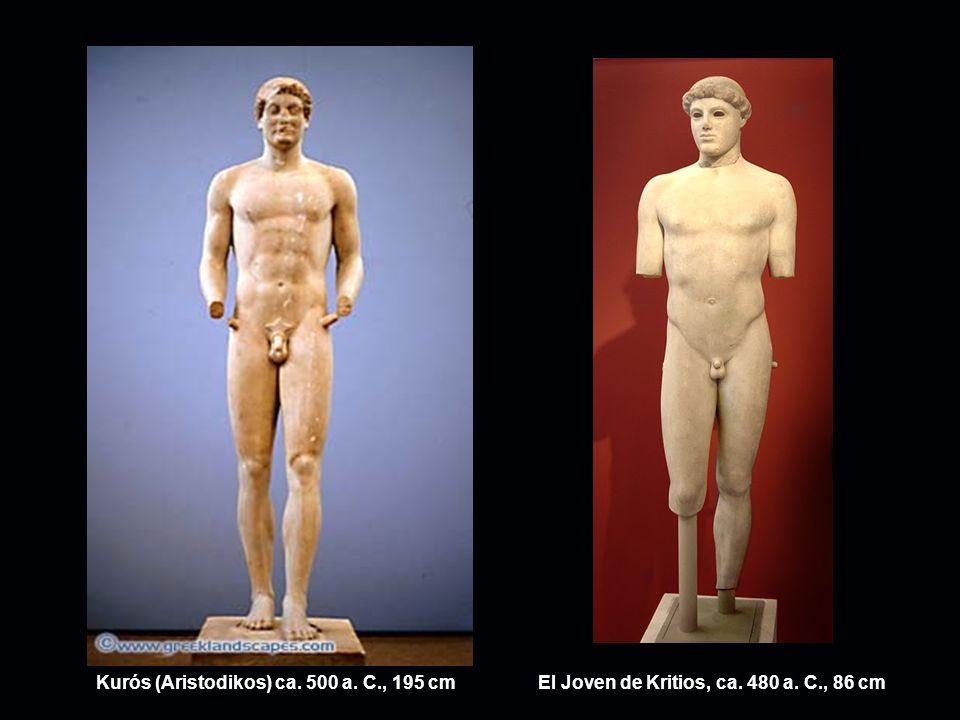 Kurós (Aristodikos) ca. 500 a. C., 195 cm