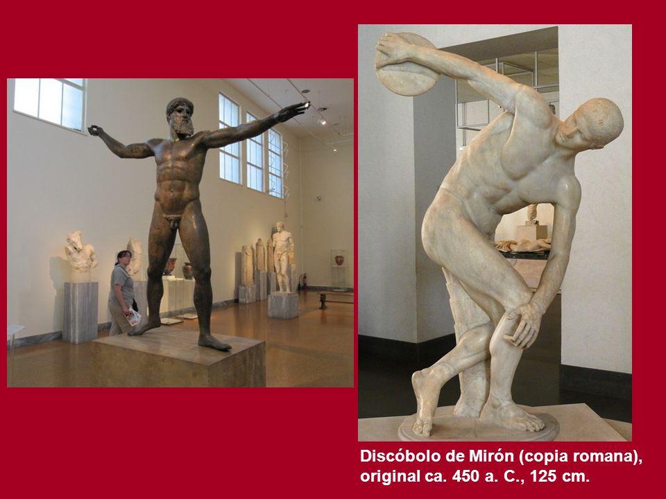 Discóbolo de Mirón (copia romana),