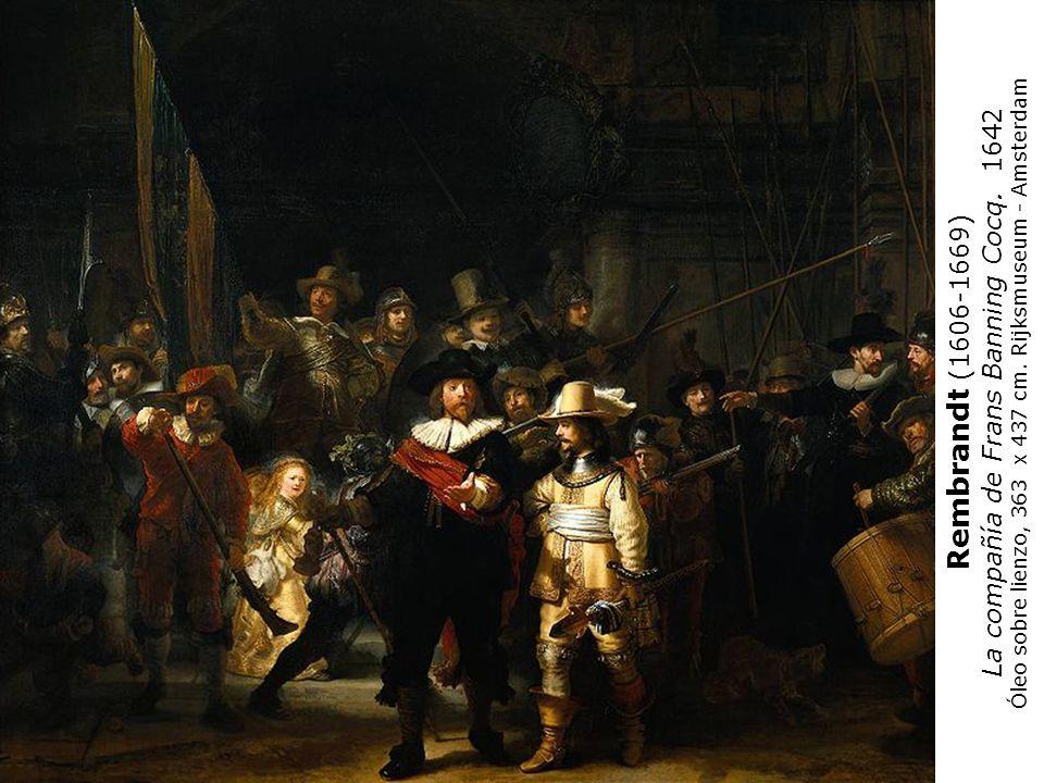 Rembrandt (1606-1669) La compañía de Frans Banning Cocq. 1642