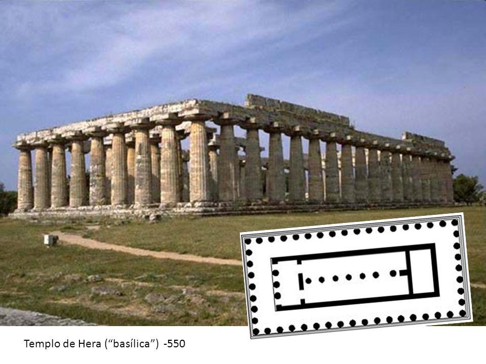 Templo de Hera ( basílica ) -550