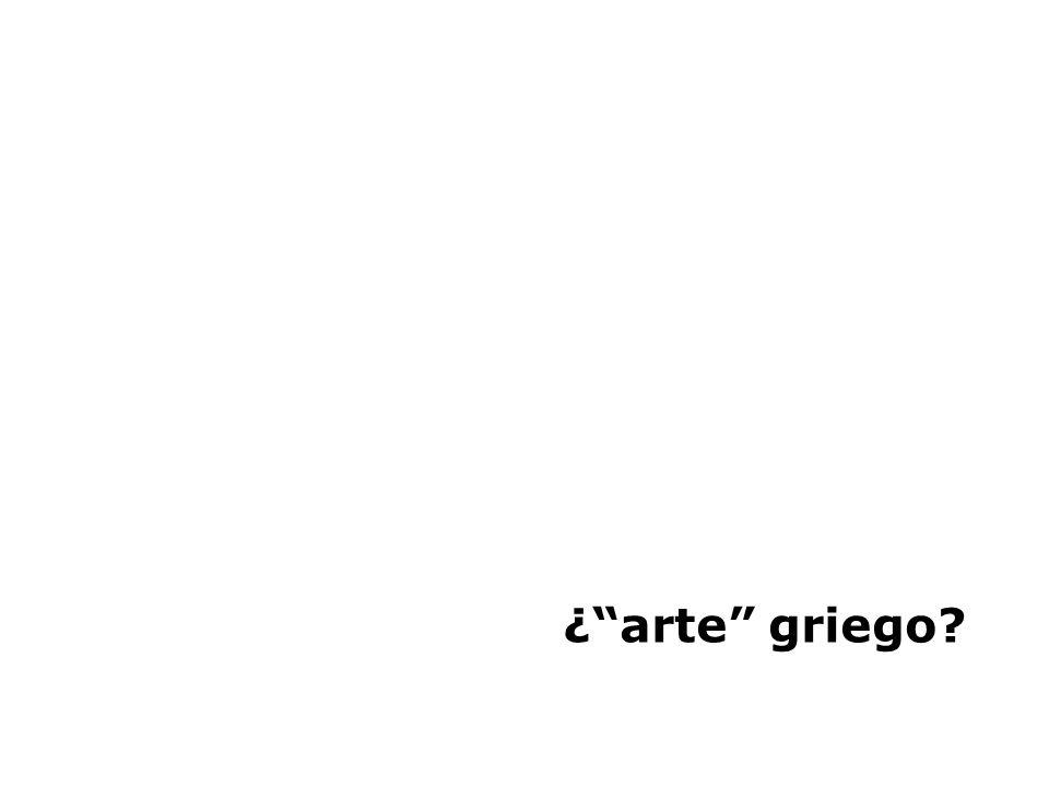 ¿ arte griego