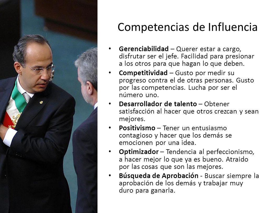 Competencias de Influencia