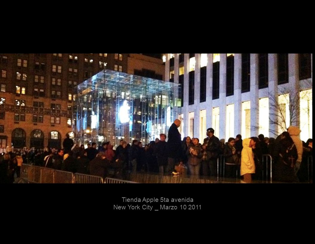 Tienda Apple 5ta avenida