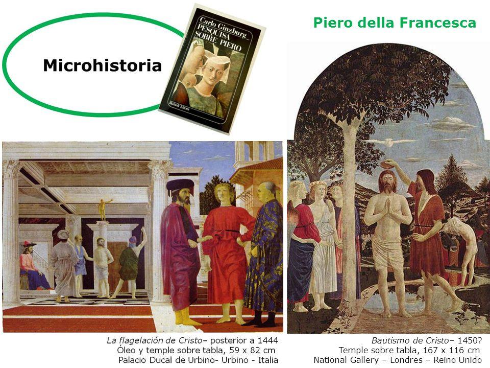 Piero della Francesca Bautismo de Cristo– 1450