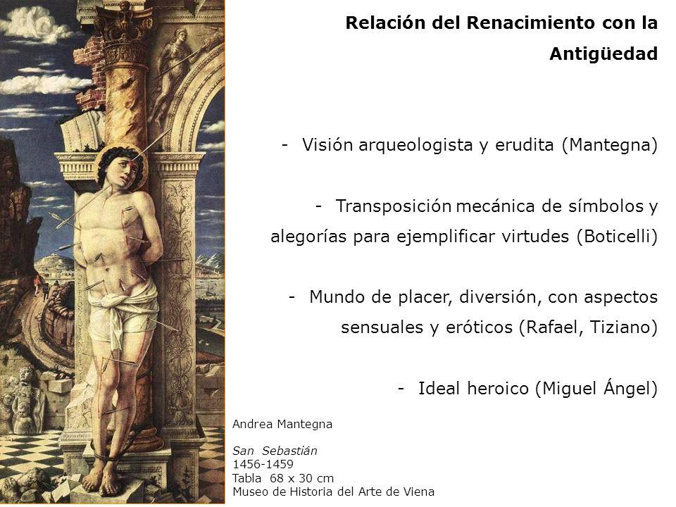 Relación del Renacimiento con la Antigüedad