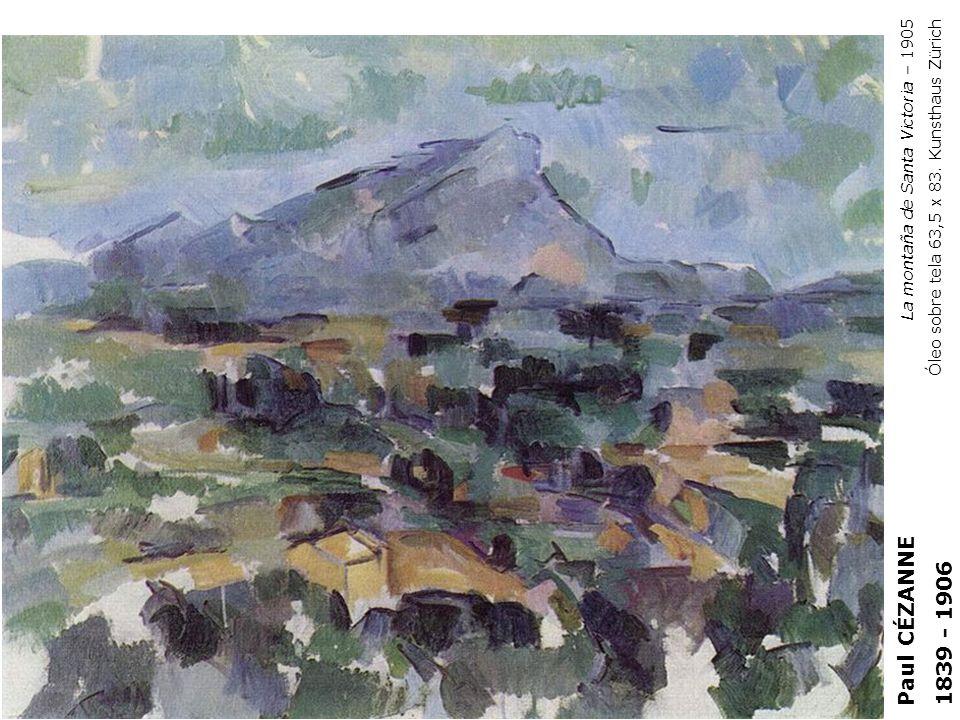 Paul CÉZANNE 1839 - 1906 La montaña de Santa Victoria – 1905