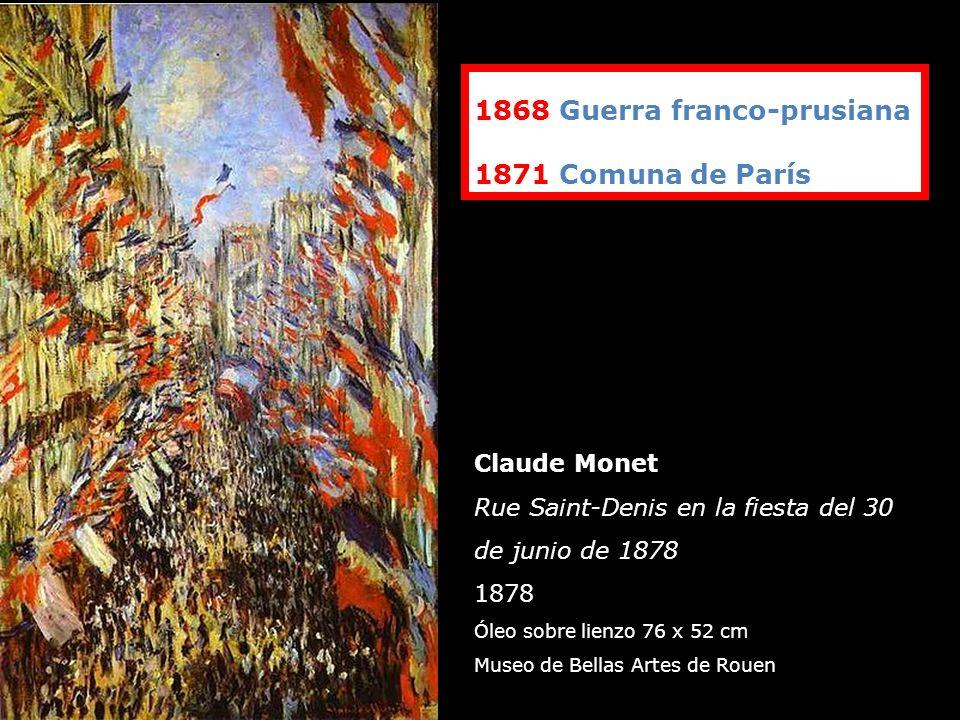 1868 Guerra franco-prusiana 1871 Comuna de París