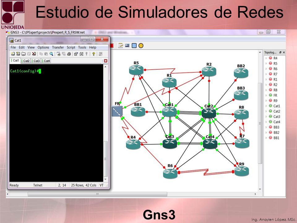 Estudio de Simuladores de Redes