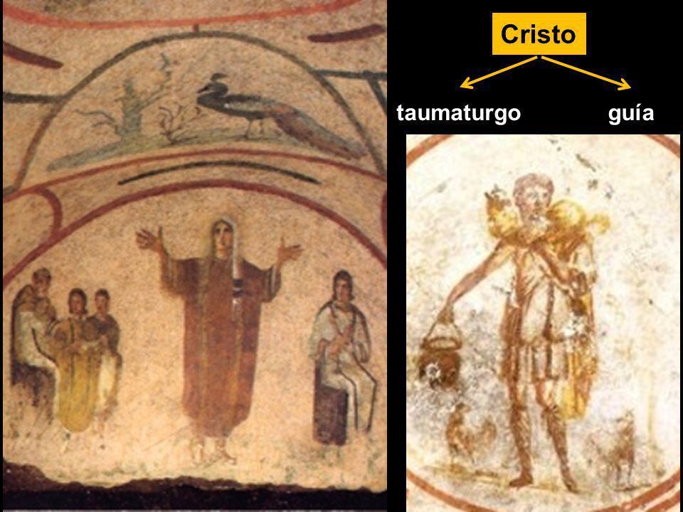 Cristo taumaturgo guía NO profeta