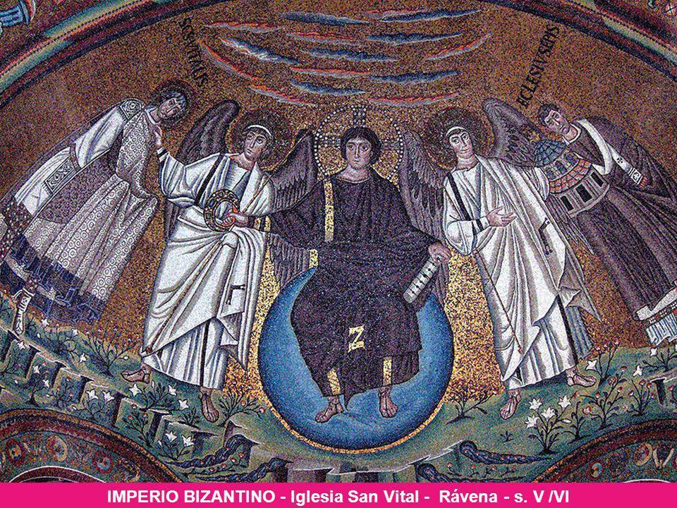 IMPERIO BIZANTINO - Iglesia San Vital - Rávena - s. V /VI