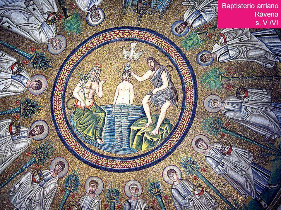 Baptisterio arriano Rávena s. V /VI