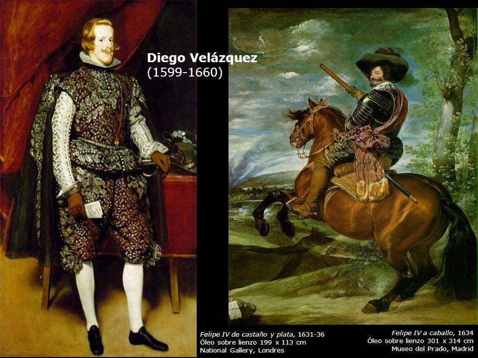 Diego Velázquez (1599-1660) Felipe IV a caballo, 1634