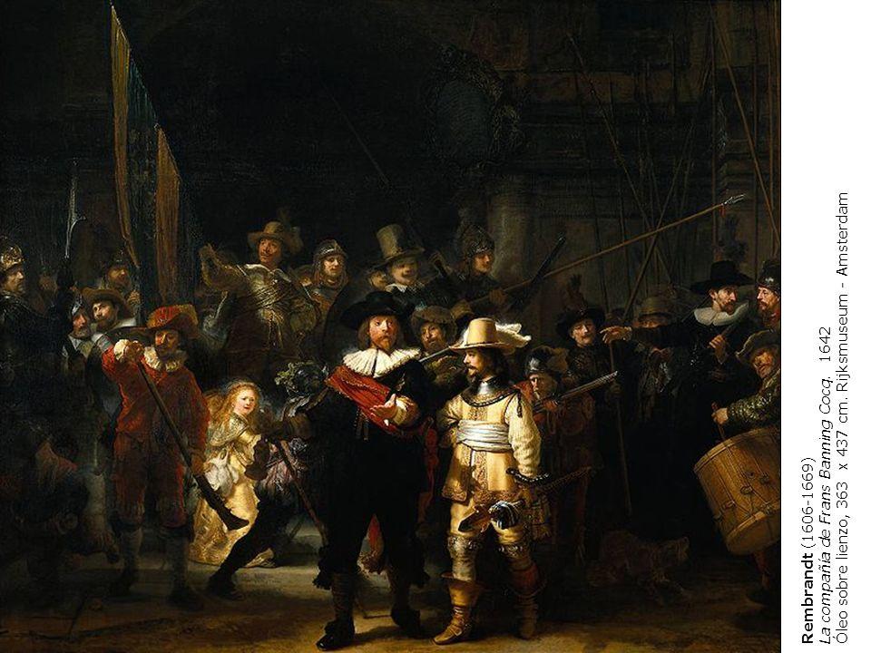 Óleo sobre lienzo, 363 x 437 cm. Rijksmuseum - Amsterdam
