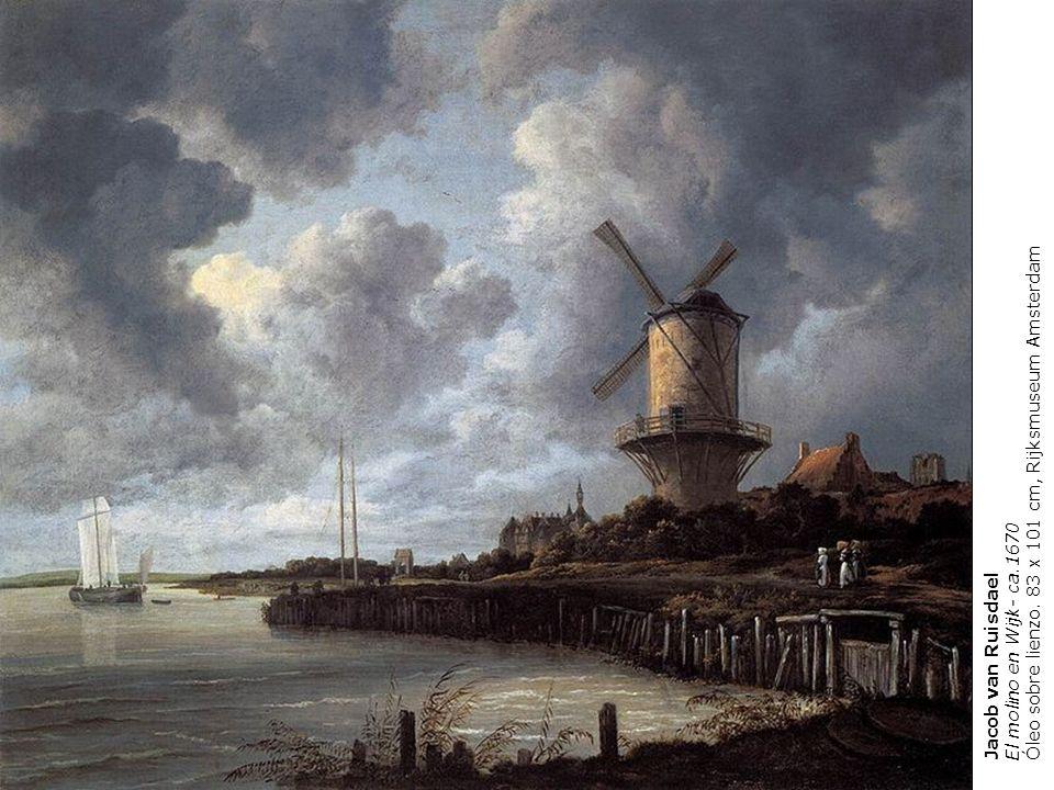 Óleo sobre lienzo. 83 x 101 cm, Rijksmuseum Amsterdam