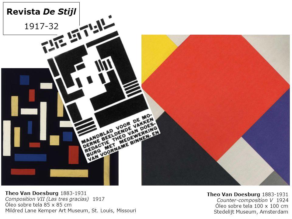 Revista De Stijl 1917-32 Theo Van Doesburg 1883-1931