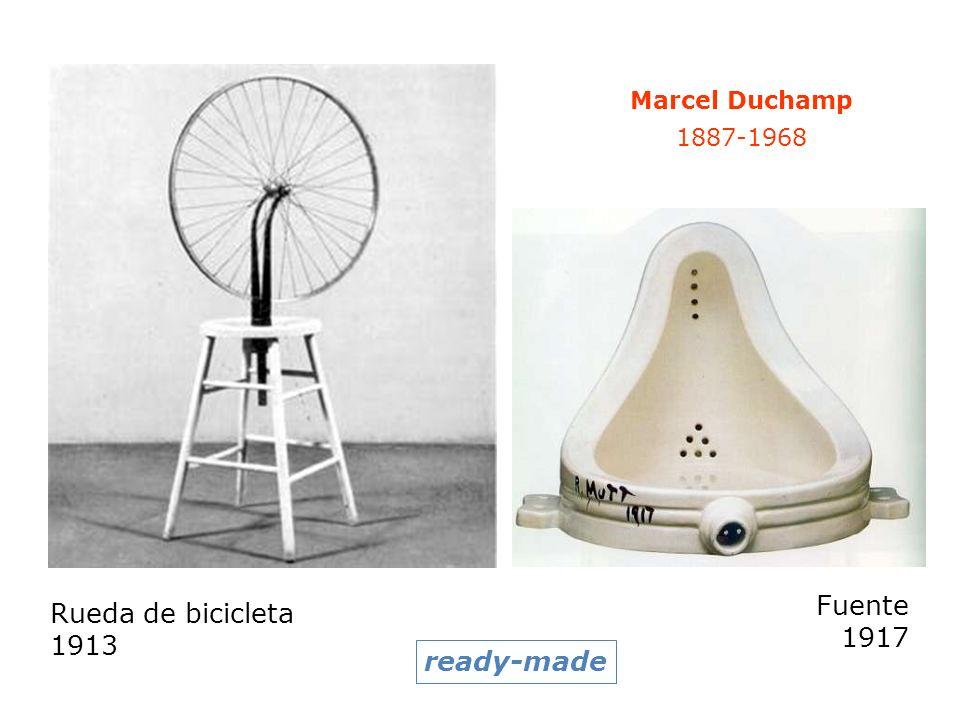 Fuente Rueda de bicicleta 1917 1913 ready-made Marcel Duchamp