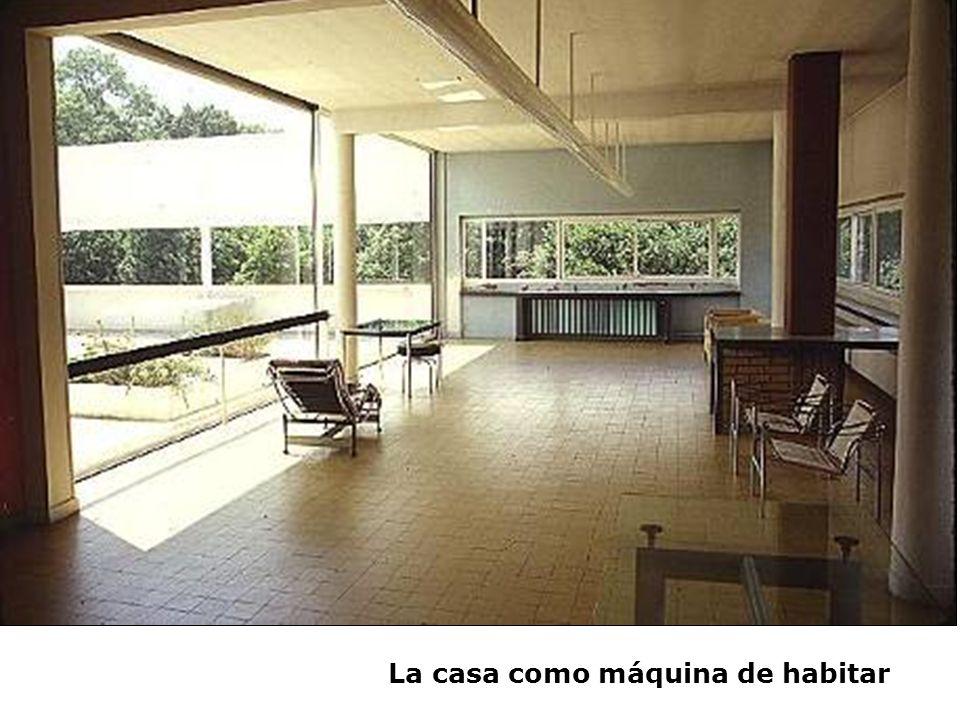 La casa como máquina de habitar