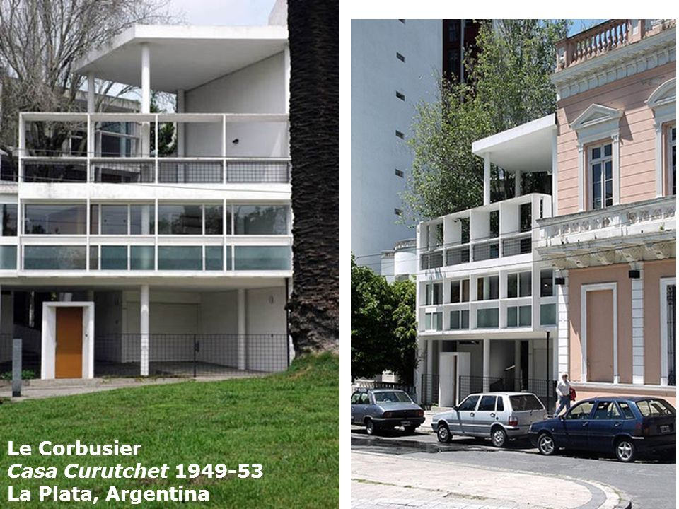Le Corbusier Casa Curutchet 1949-53 La Plata, Argentina