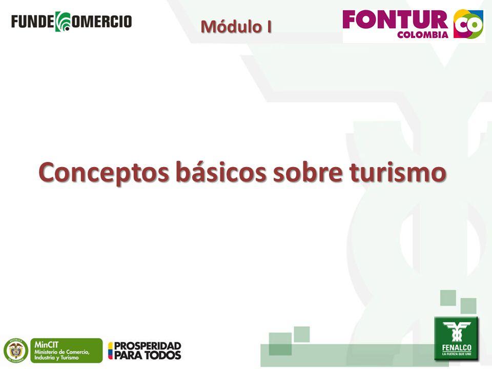 Conceptos básicos sobre turismo