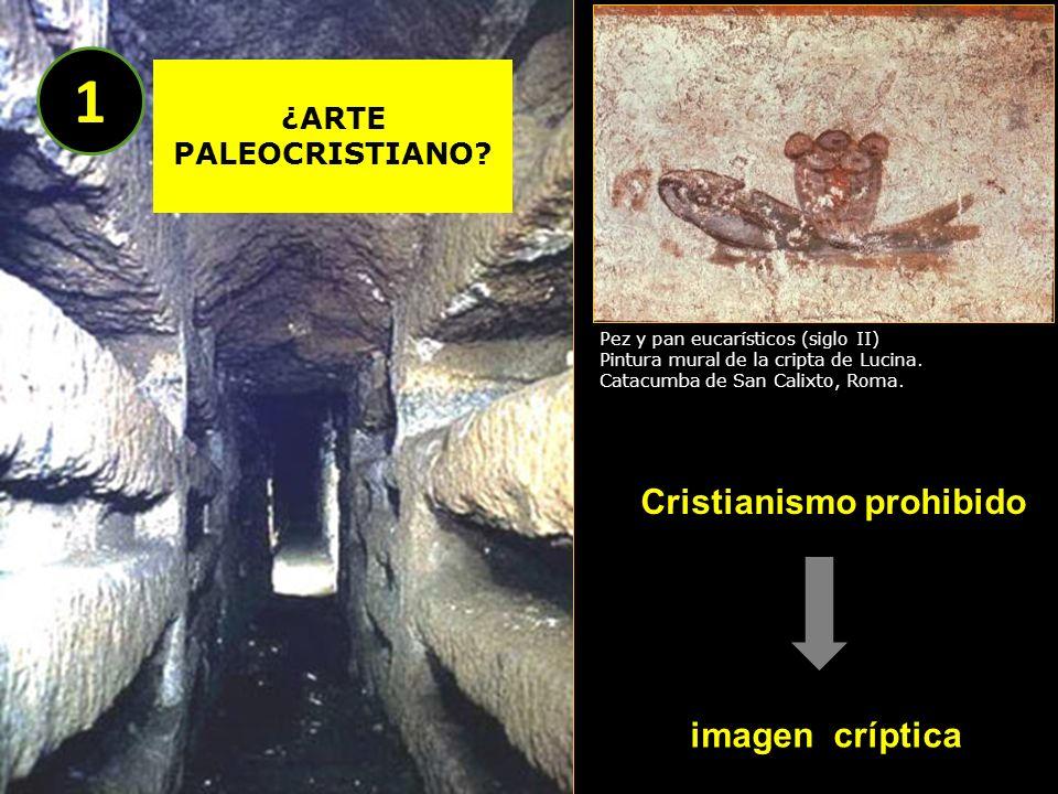 1 Cristianismo prohibido imagen críptica ¿ARTE PALEOCRISTIANO