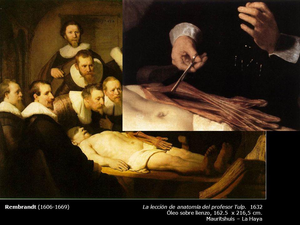 Rembrandt (1606-1669) La lección de anatomía del profesor Tulp