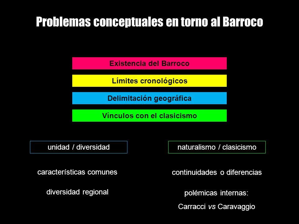 Problemas conceptuales en torno al Barroco