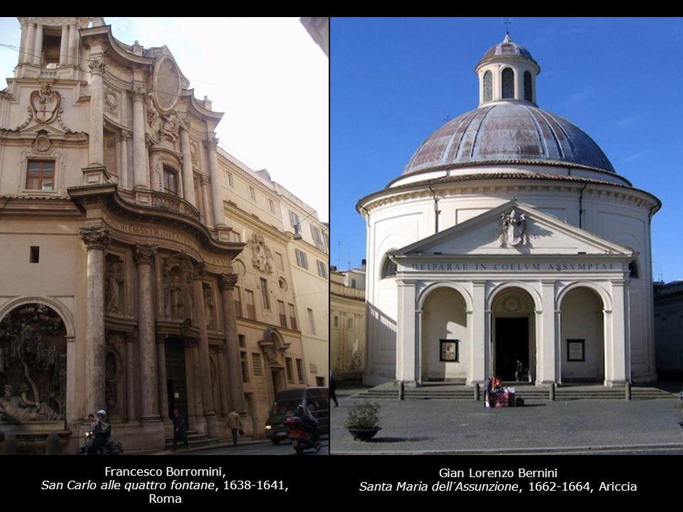 San Carlo alle quattro fontane, 1638-1641, Roma Gian Lorenzo Bernini
