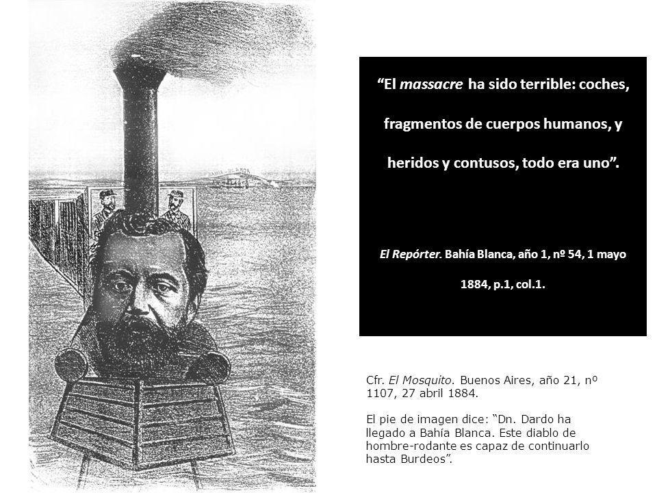El Repórter. Bahía Blanca, año 1, nº 54, 1 mayo 1884, p.1, col.1.