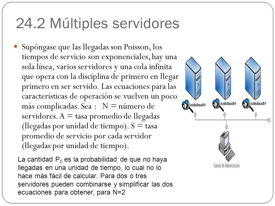 24.2 Múltiples servidores