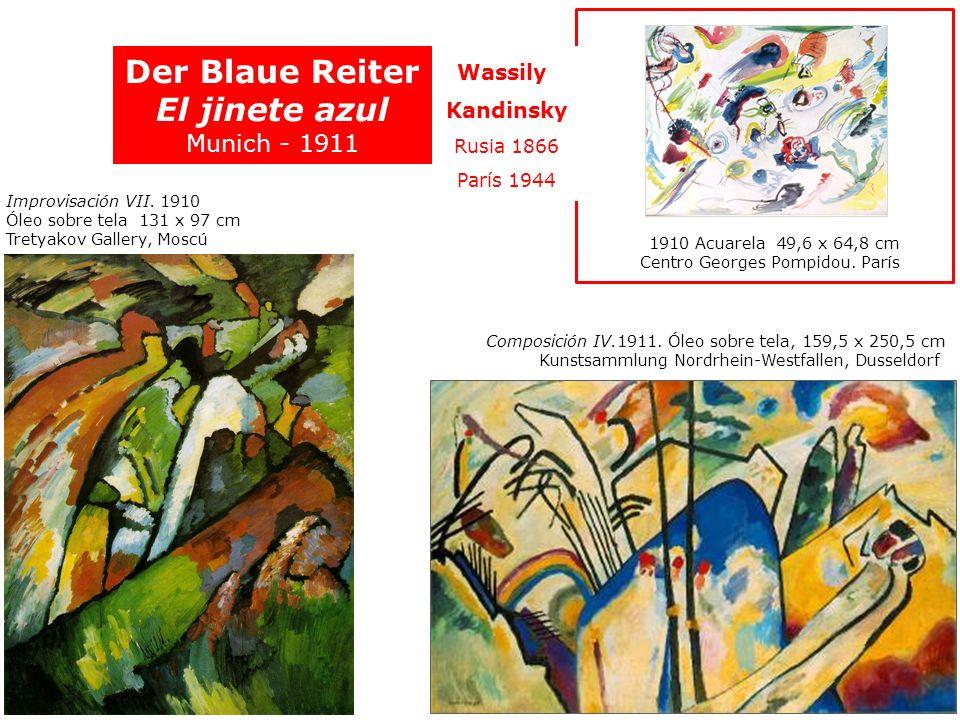 Der Blaue Reiter El jinete azul