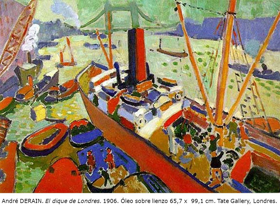 André DERAIN. El dique de Londres. 1906