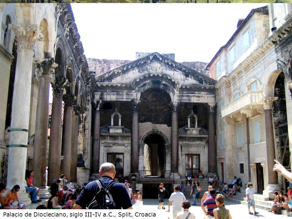 Palacio de Diocleciano, siglo III-IV a.C., Split, Croacia